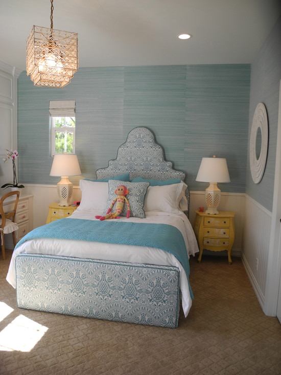 Turquoise Bed With Trundle