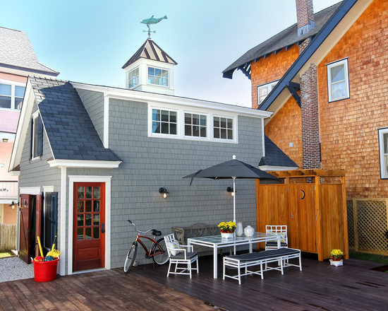 Eclectic Garage And Shed