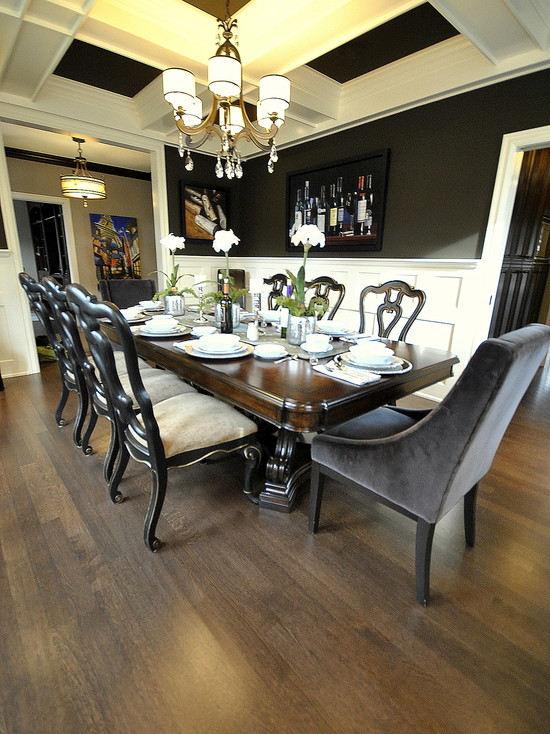 Dining Room Re Design In Edmonton Ab For Magazine Photo Shoot