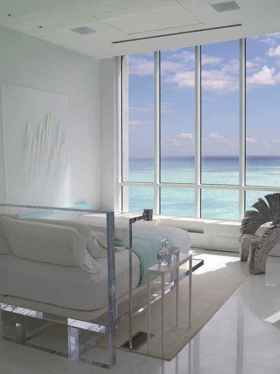 Jennifer Post Designed Apartment At The Bath Club Miami Beach